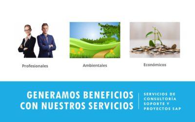 Beneficios generados por nuestros servicios de Consultoría SAP remotos